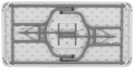 plastic rectangular folding table - Plastic Folding Tables