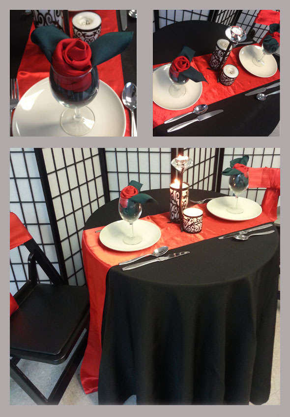 7 valentines day decoration ideas royalty rentals for Valentine day dinner party ideas