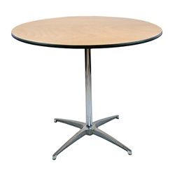 Exceptional 30u2033 Round Table (Standard Height)