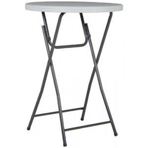 30u2033 Round High Top Table (Bistro/Cocktail Table)